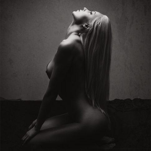 Eva Plesnik, model book, fine art nudes, Ulla Wolk