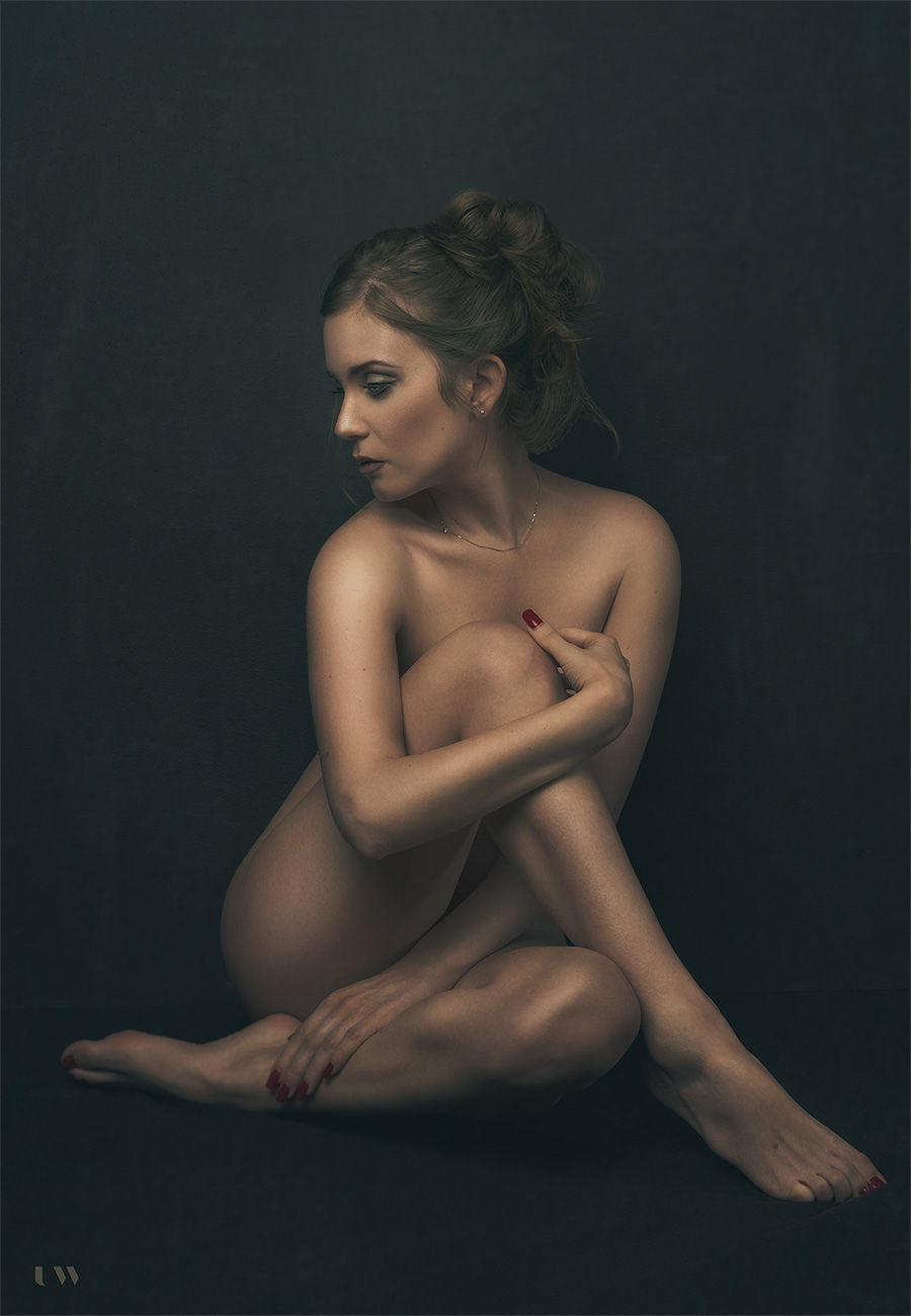Diana, fine art nudes, Ulla Wolk