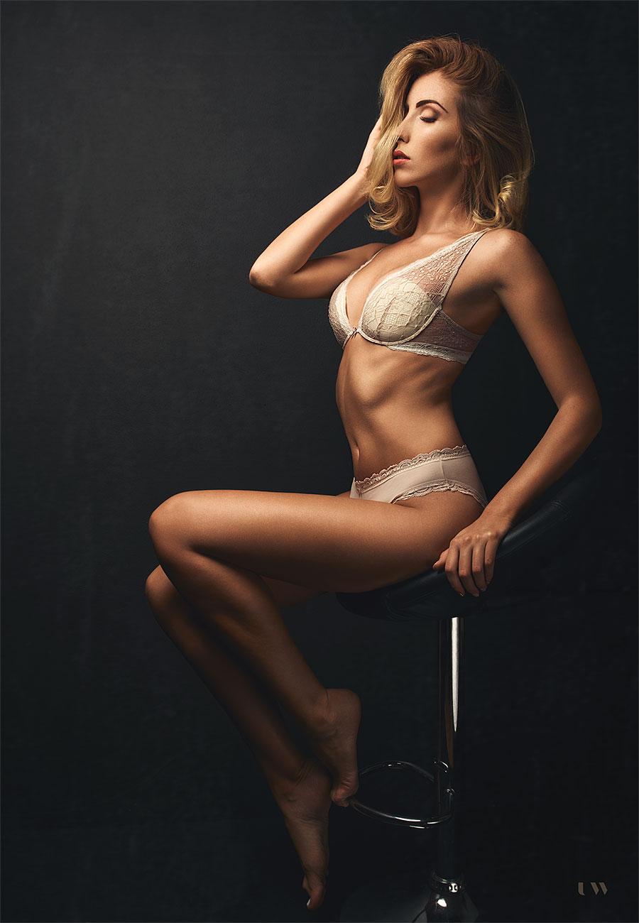 Antonija D., boudoir, Ulla Wolk