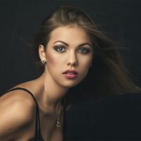 Evelyn Vuk, portrait and boudoir from workshop, Ulla Wolk